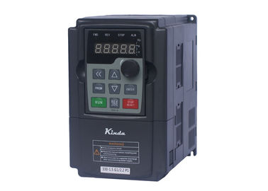 China High Frequency 1 Hp Variable Frequency Drive , Vfd Phase Converter 0.75KW supplier