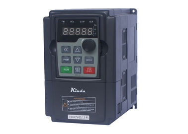 0.5HP / 0.4KW VFD Variable Frequency Drive High Frequency 3AC Modular Design