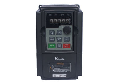 Sensorless Vector VFD Three Phase Variable Frequency Drive 1.5KW Easy Installation