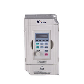0.4KW - 1.5KW Single Phase Variable Frequency Drive Open Loop Vector Control